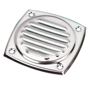 S/S Square Louvre Vent 102x102mm