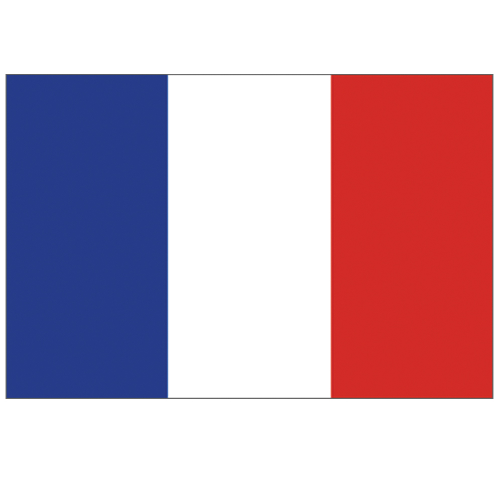 Courtesy Flag France