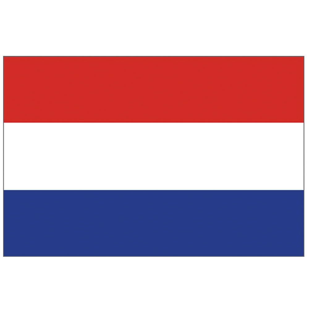 Courtesy Flag Netherlands