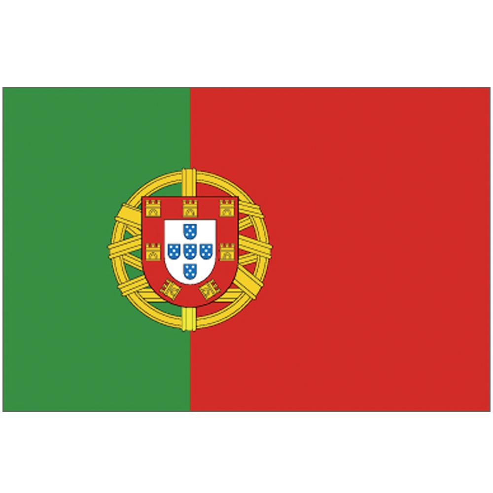 Courtesy Flag Portugal