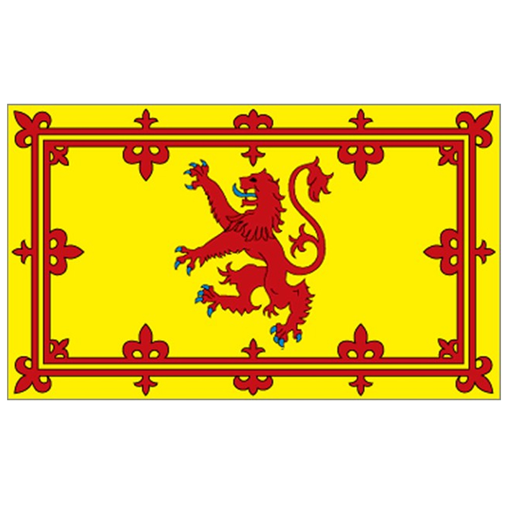 Courtesy Flag Scottish Lion