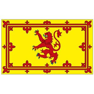 Courtesy Flag Scottish Lion