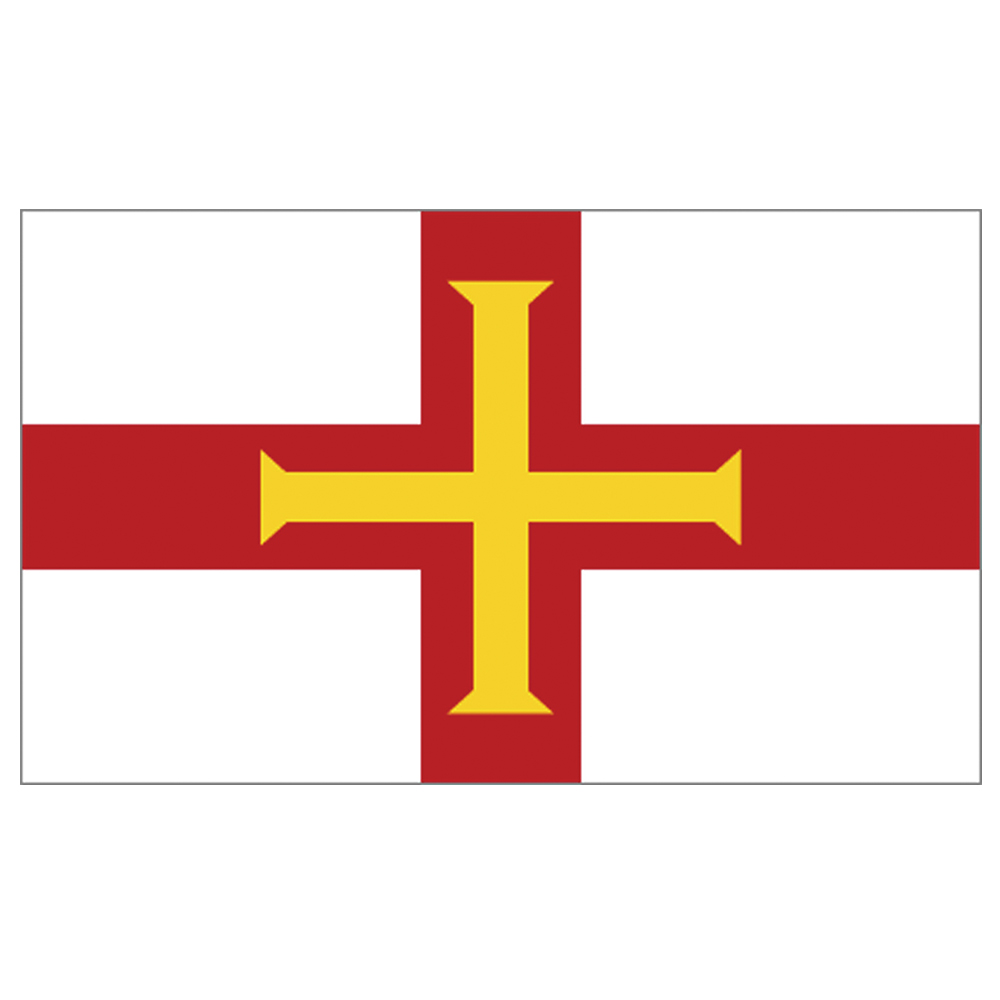 Courtesy Flag Guernsey
