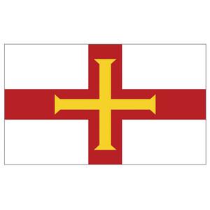 Courtesy Flag Guernsey
