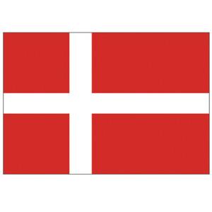 Courtesy Flag Denmark