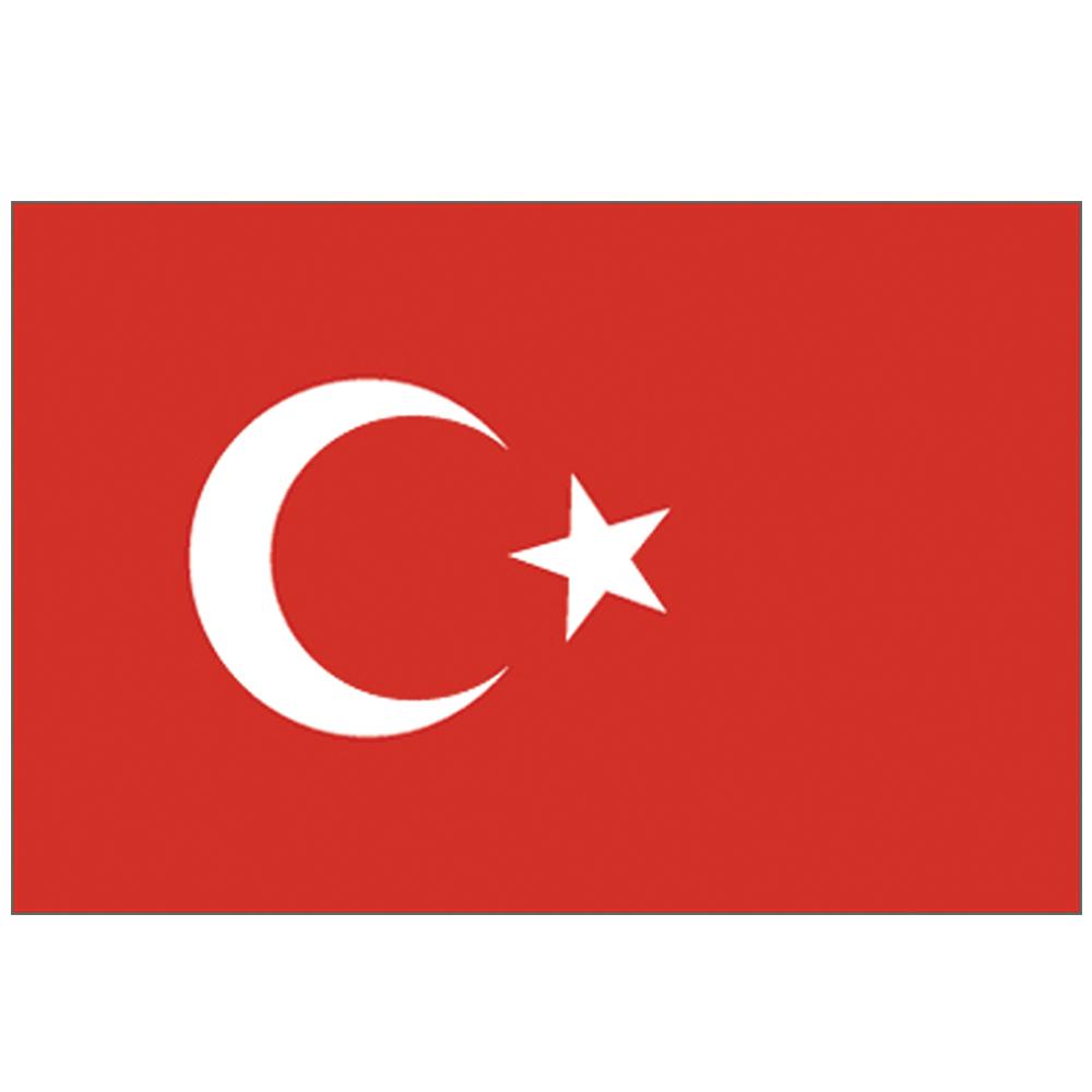 Courtesy Flag Turkey