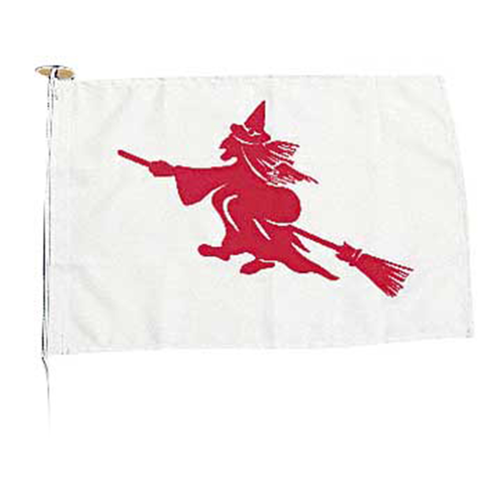 Novelty Flag - Witch
