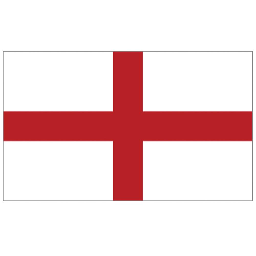 Courtesy Flag St George (England)