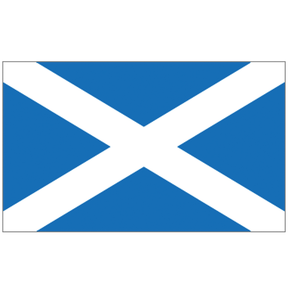 Courtesy Flag St Andrew (Scotland)