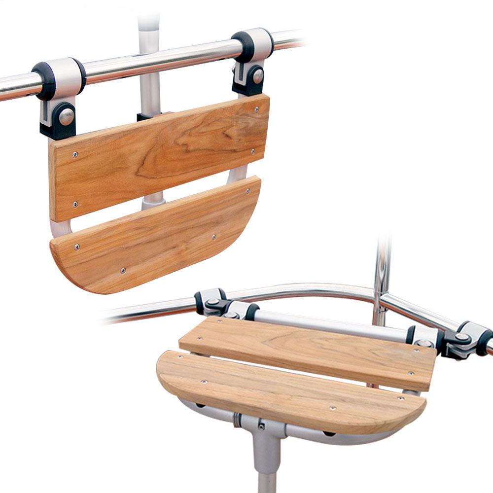 Teak Folding Seat