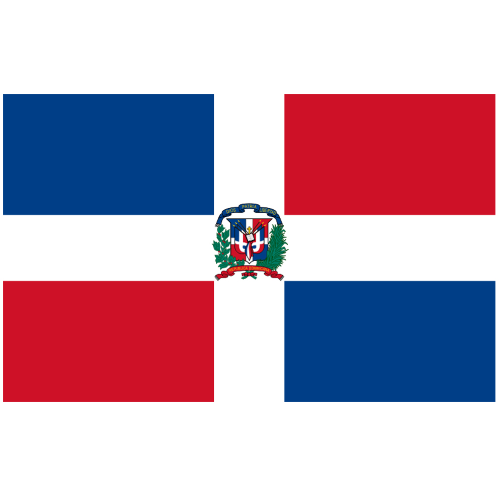 Courtesy Flag Dominican Republic
