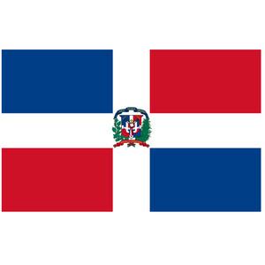 Courtesy Flag Dominican Republic