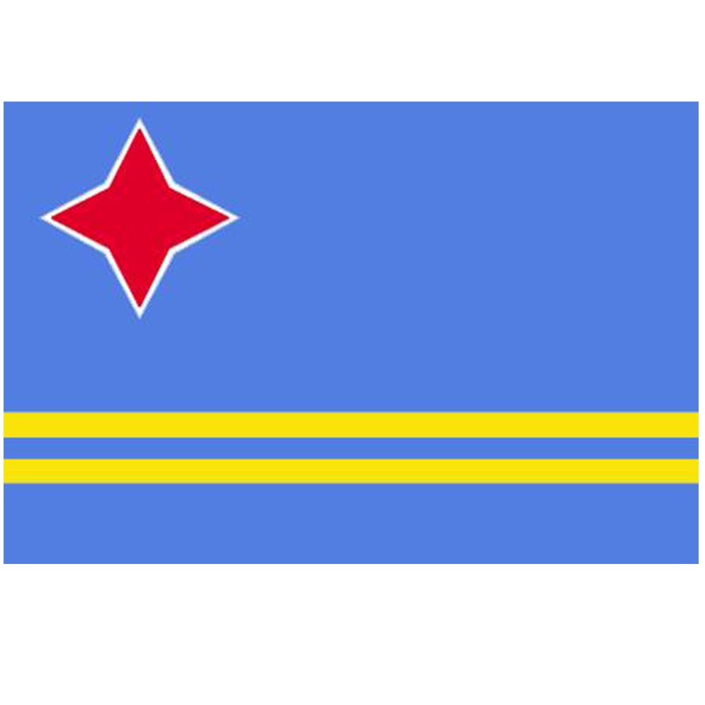 Courtesy Flag Aruba