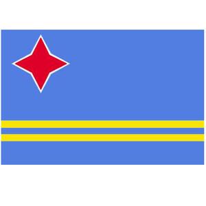 Courtesy Flag Aruba
