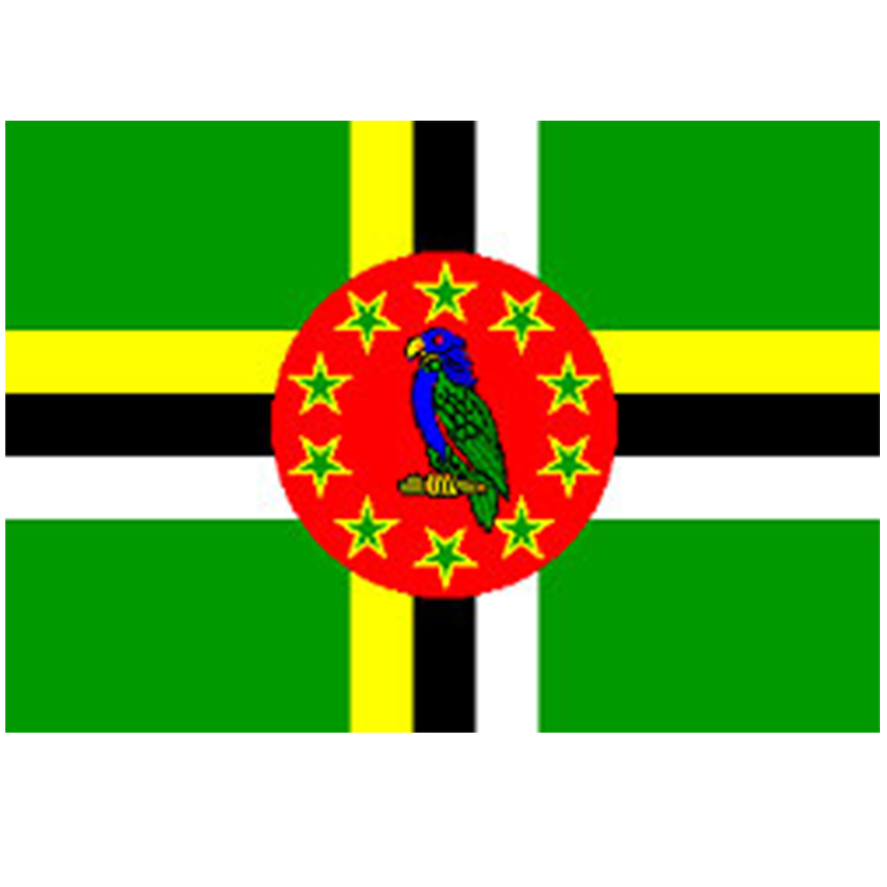 Courtesy Flag Dominica