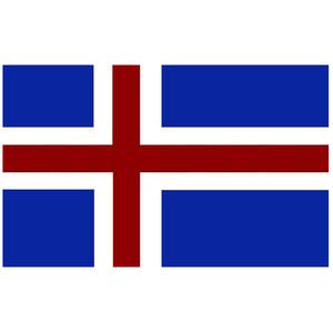 Courtesy Flag Iceland