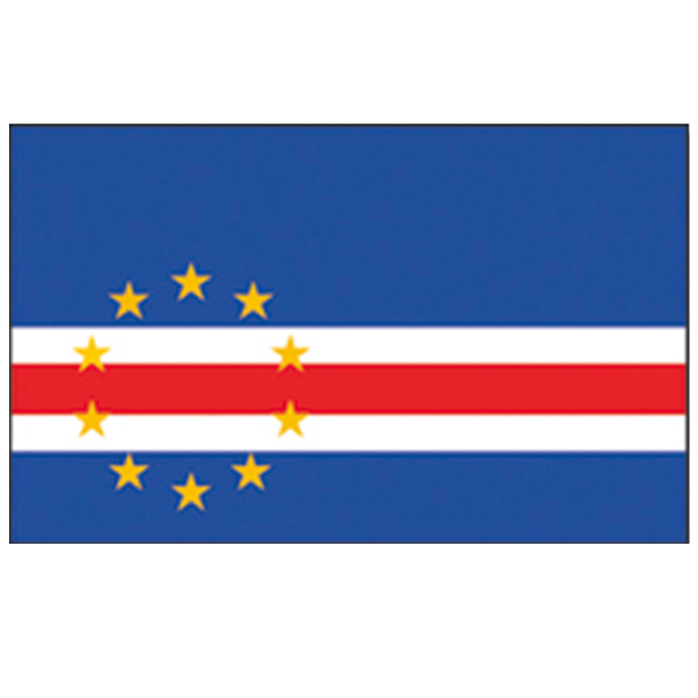 Courtesy Flag Cape Verde