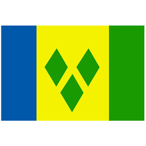 Courtesy Flag St. Vincent & Grenadines