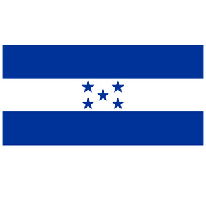 Courtesy Flag Honduras