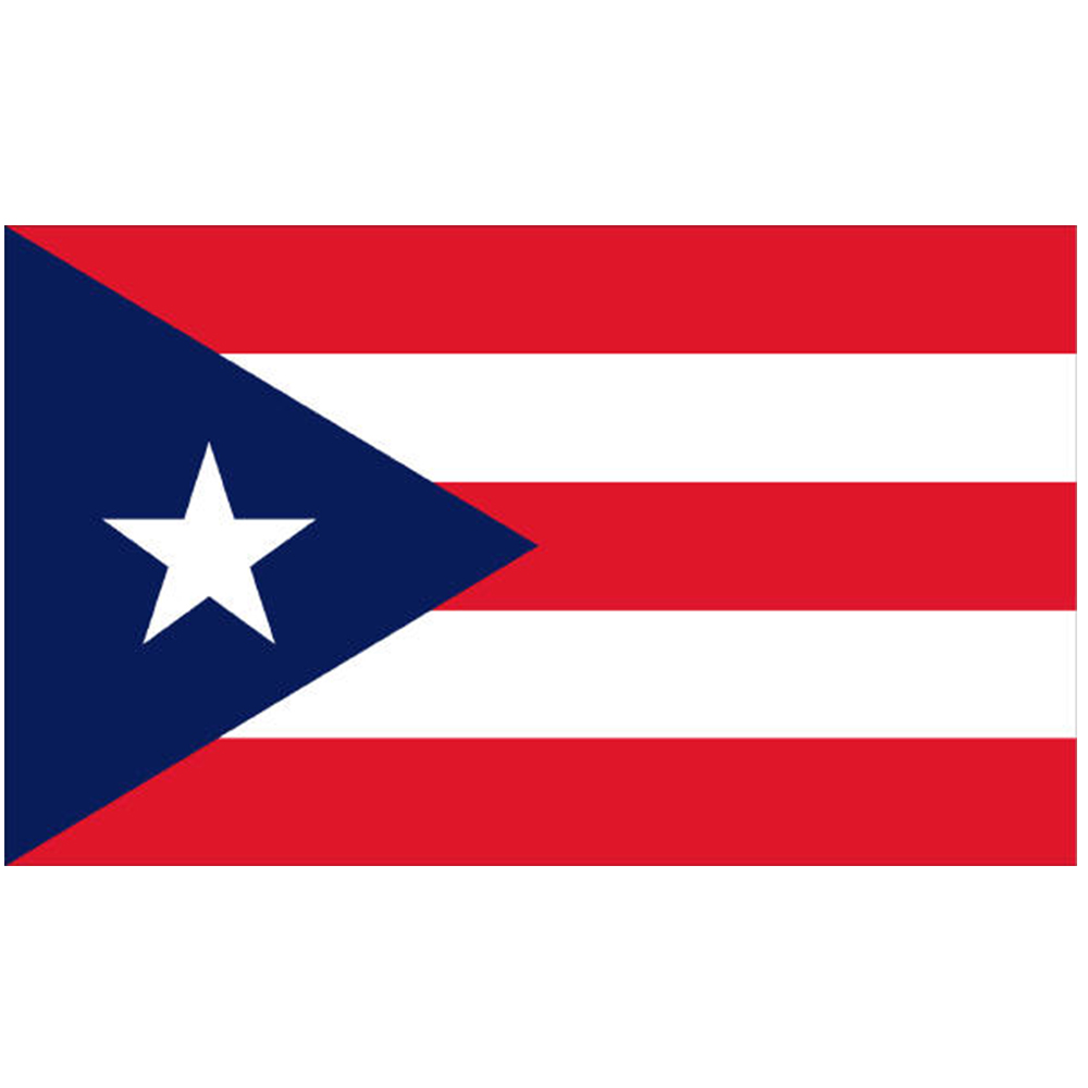 Courtesy Flag Puerto Rico