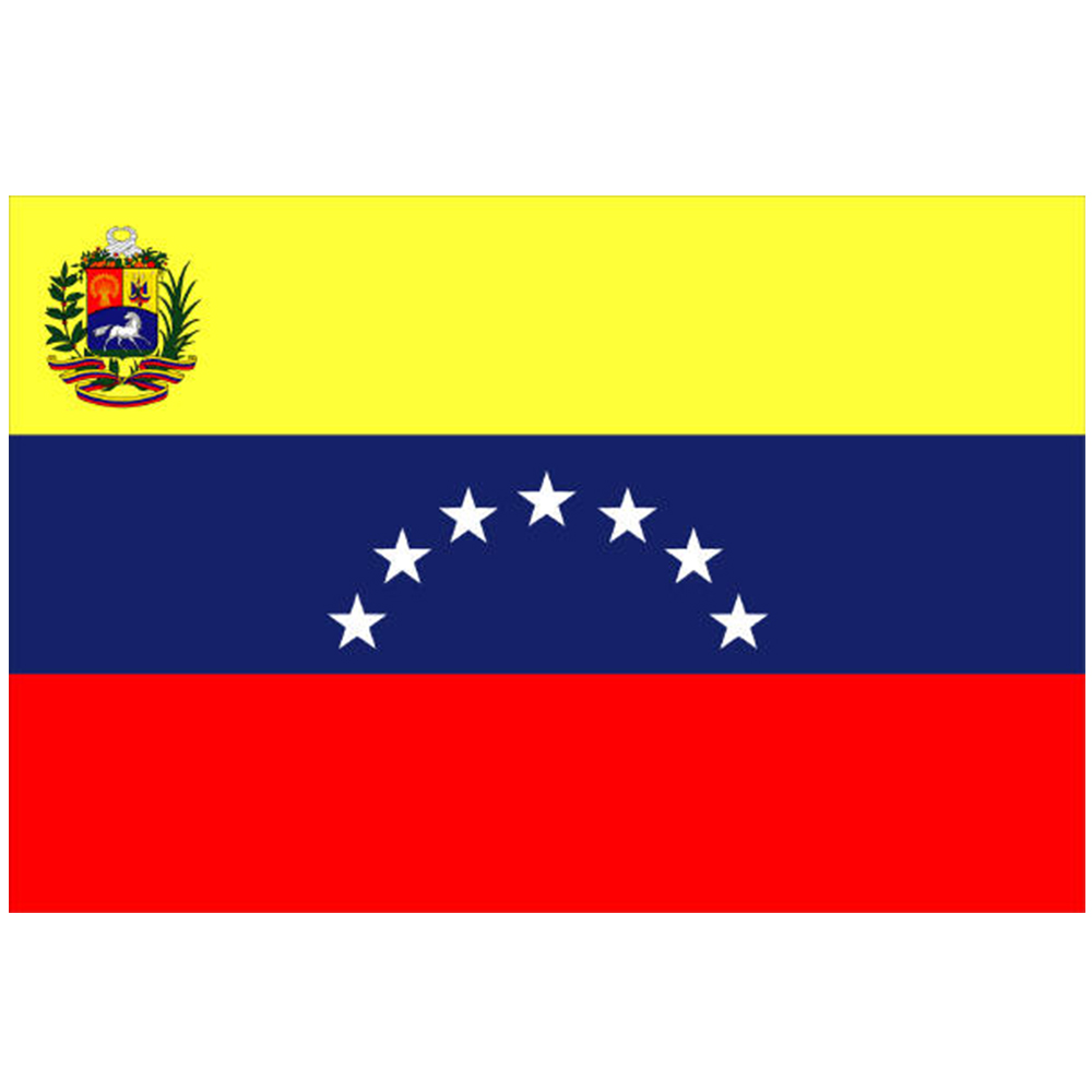 Courtesy Flag Venezuela