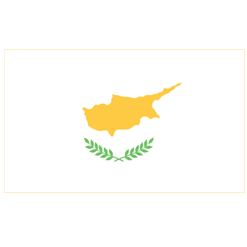 Courtesy Flag Cyprus