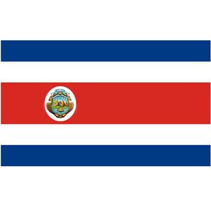 Courtesy Flag Costa Rica
