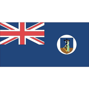 Courtesy Flag Montserrat
