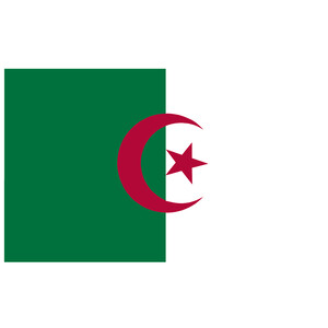 Courtesy Flag Algeria