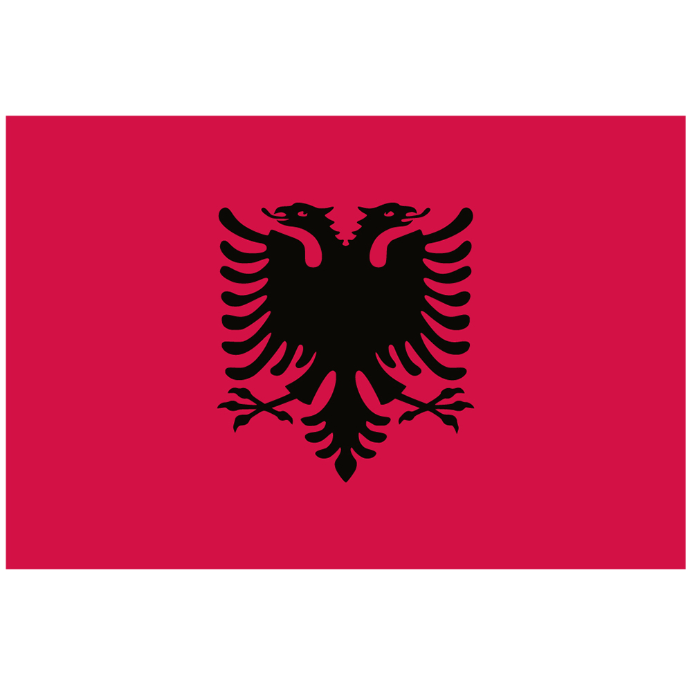 Courtesy Flag Albania