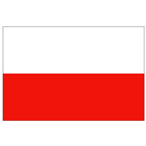 Courtesy Flag Poland