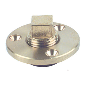 Brass Square Head Drain Bung and Socket