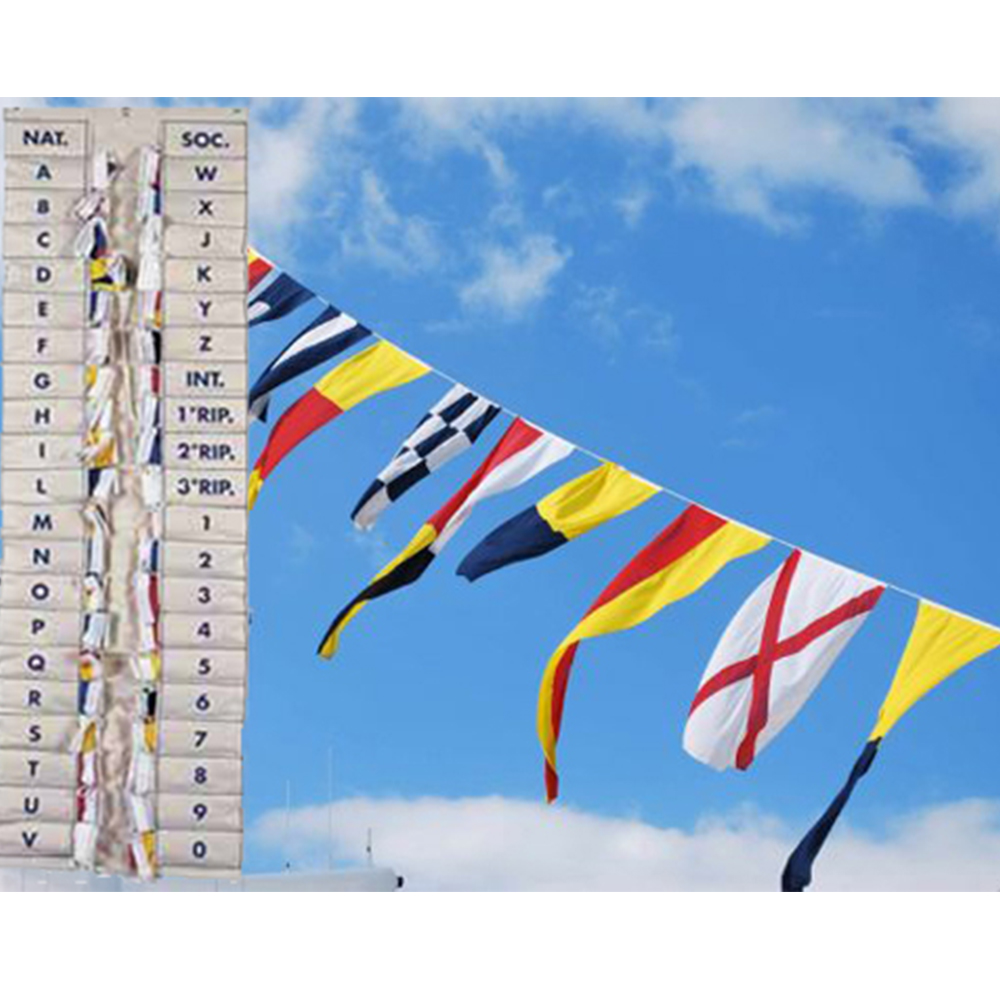 International Code Flag Set (30x45cm)