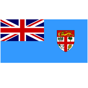 Courtesy Flag Fiji