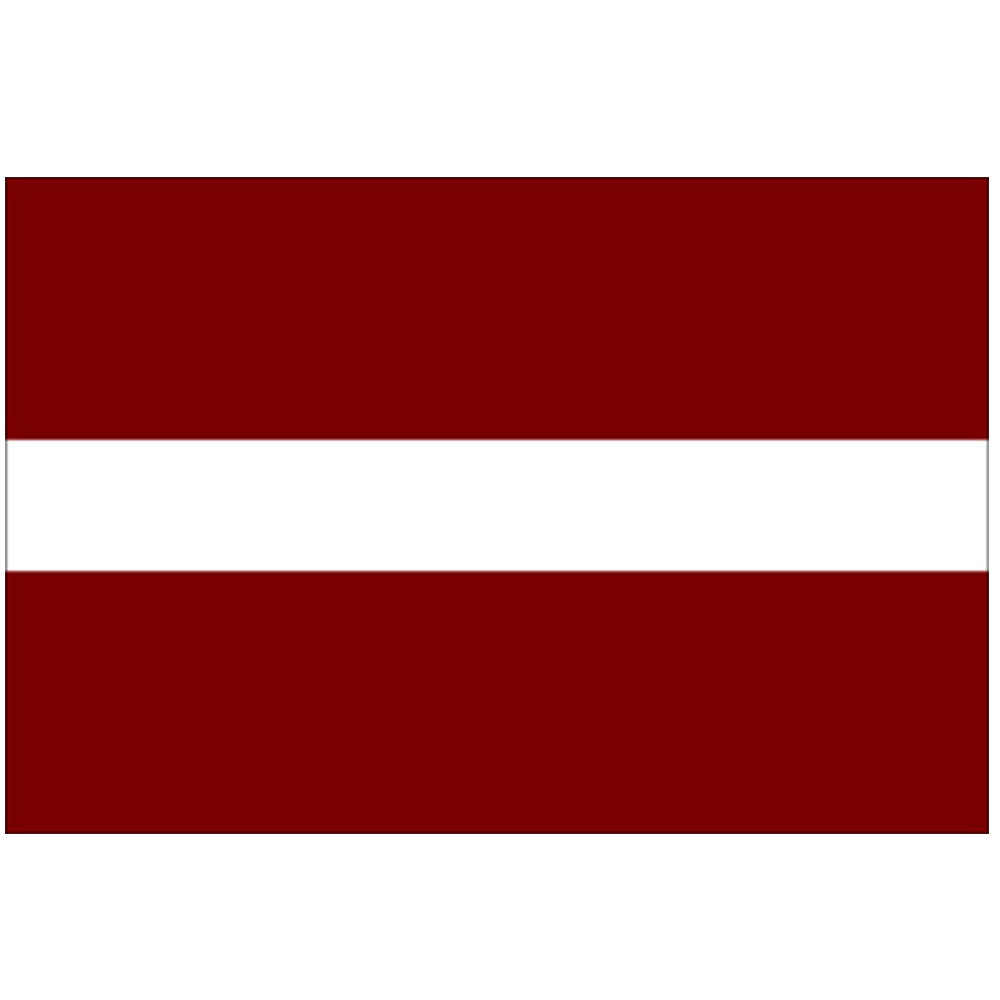 Courtesy Flag Latvia