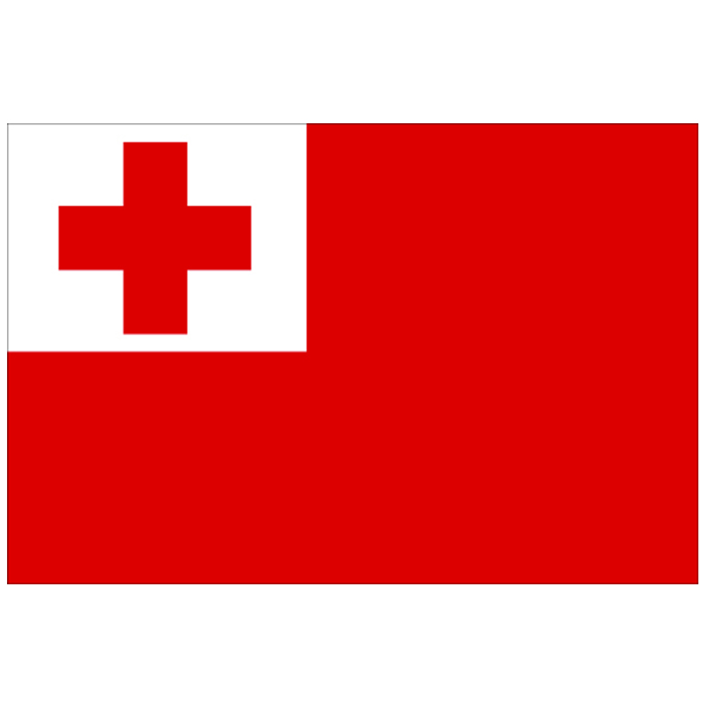 Courtesy Flag Tonga