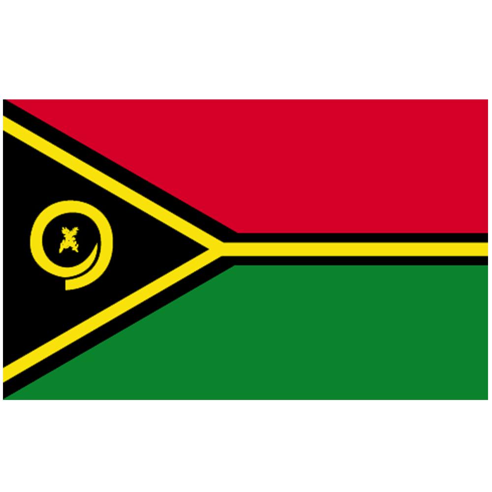 Courtesy Flag Vanuatu