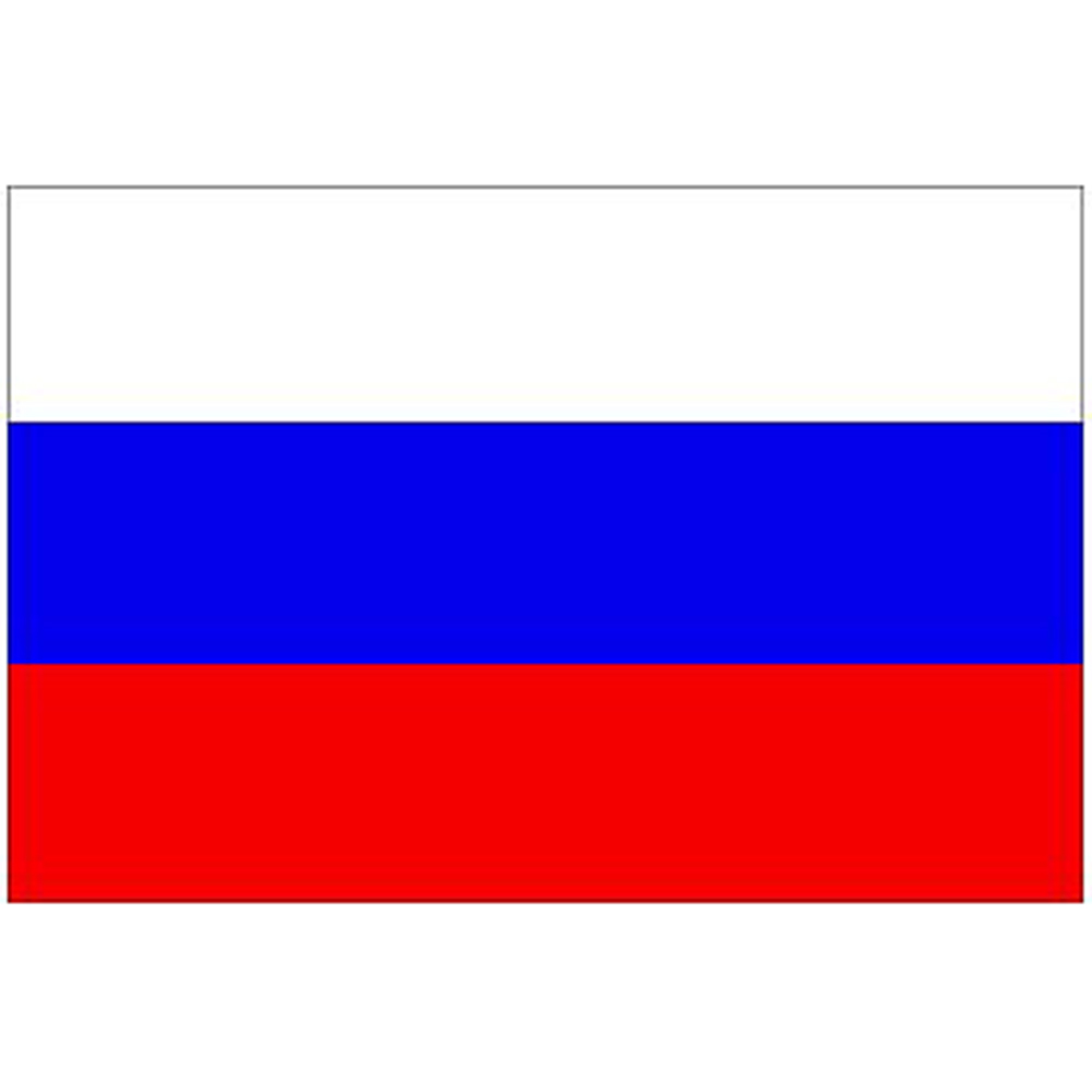 Courtesy Flag Russia