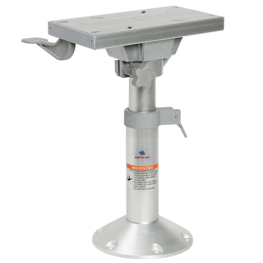 Adjustable Height Seat Pedestal with Slider