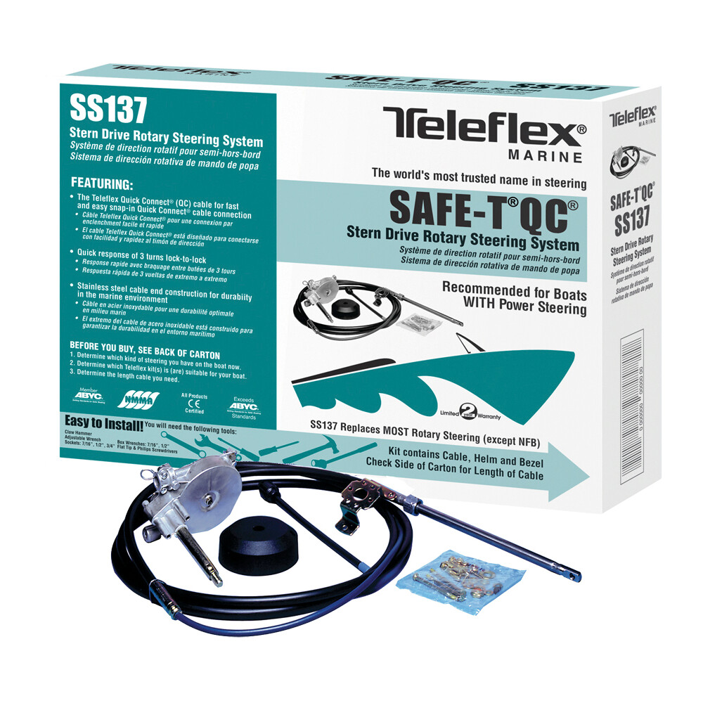 Safe-T QC Boxed Steering kit