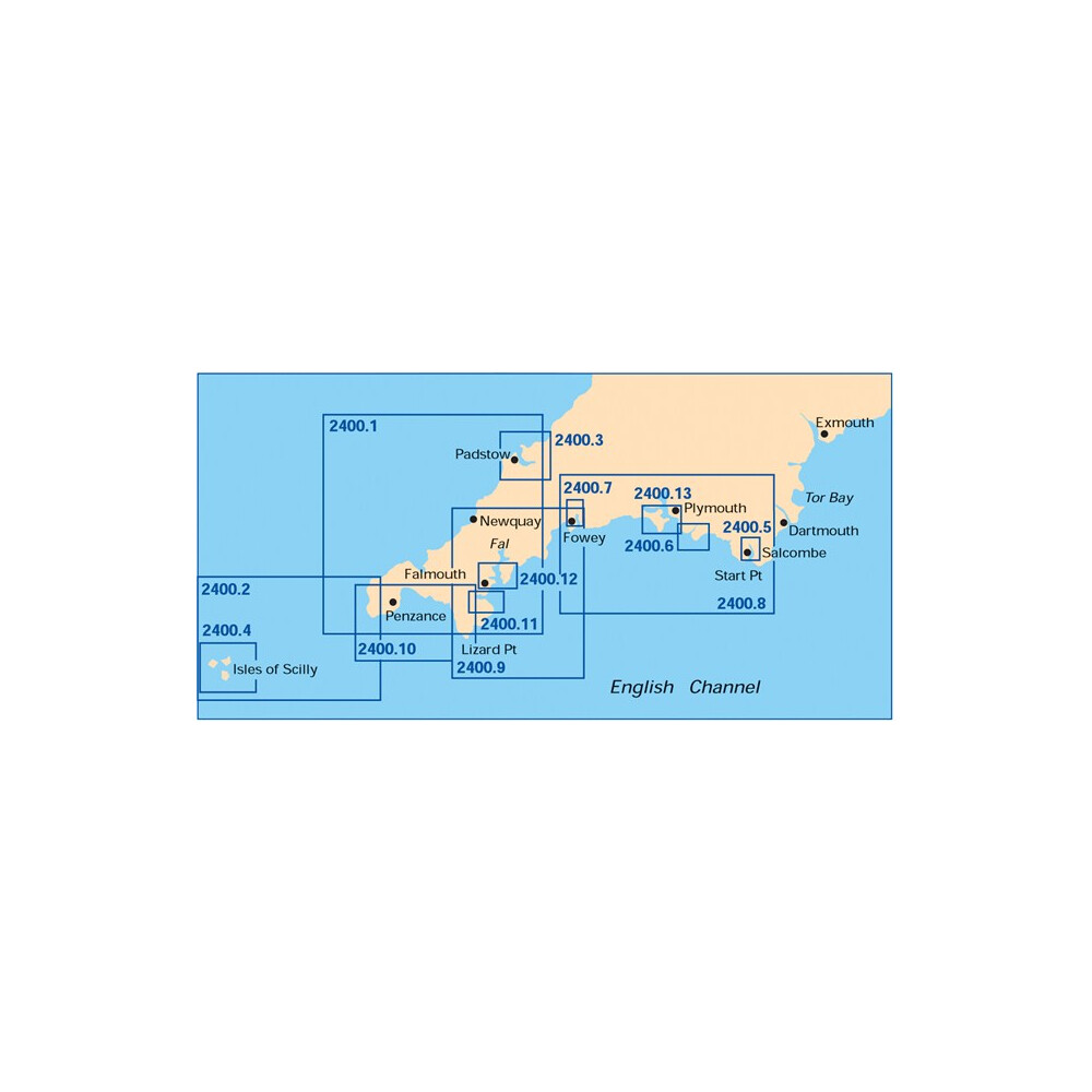 West Country Chart Pack - Dartmouth Edition