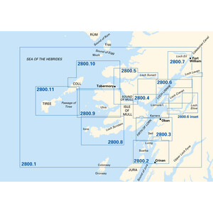 2800 West Coast of Scotland Chart Pack
