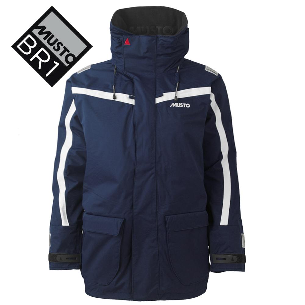 Musto BR1 Channel Jacket in Navy / Platinum