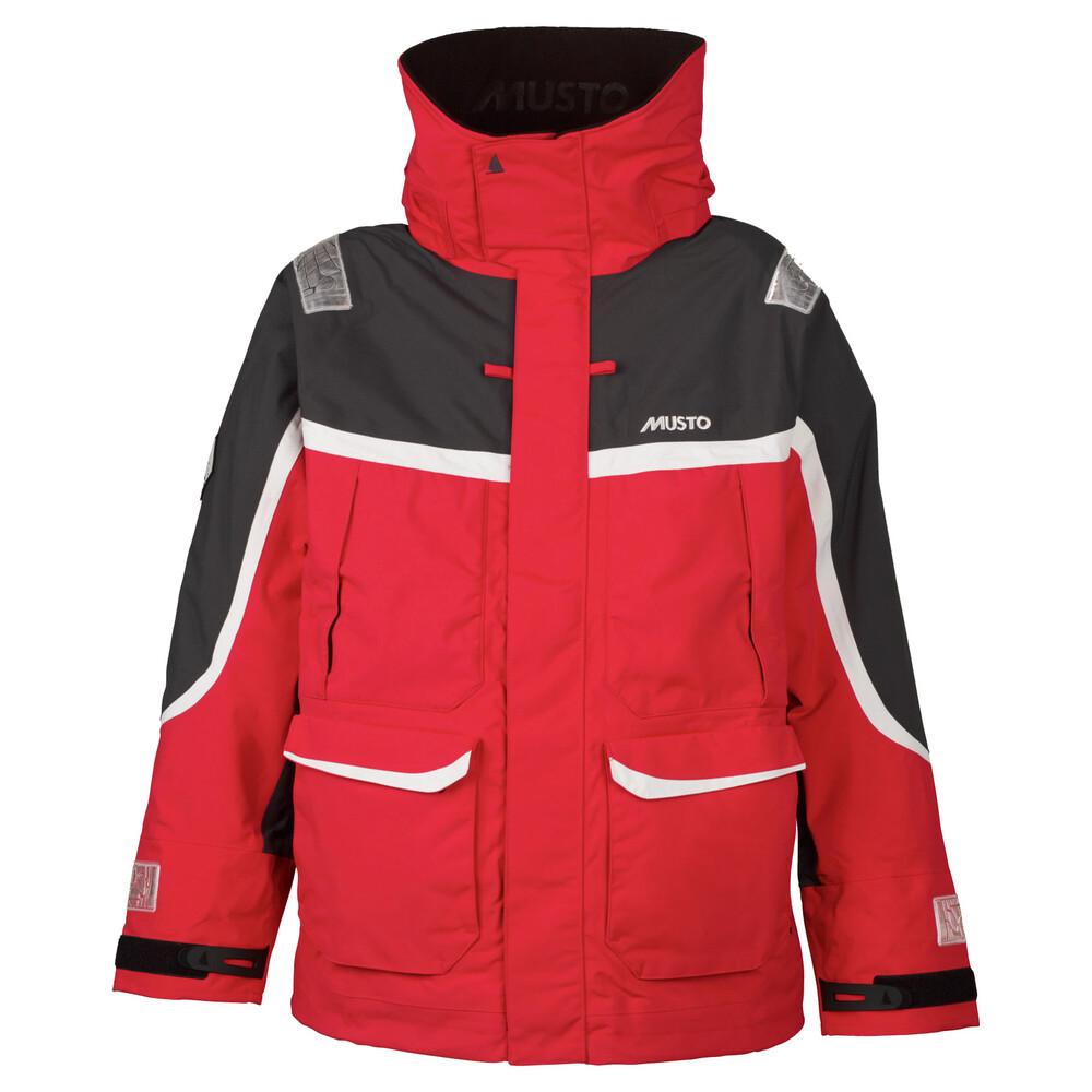 BR2 Offshore Jacket Red / Dark Grey - Offshore waterpr