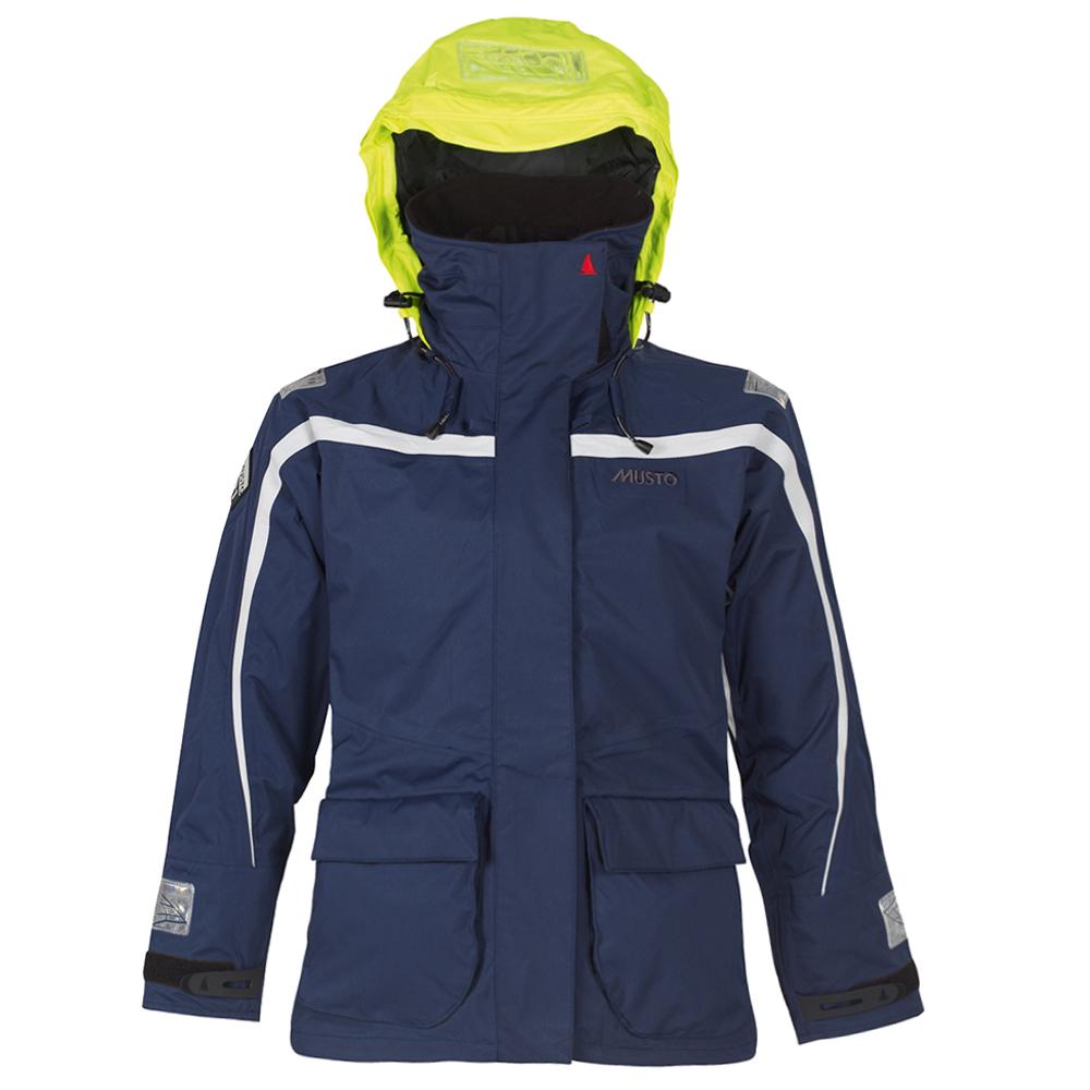 Musto  Ladies BR1 Channel Jacket FW Navy / Platinum - coasta