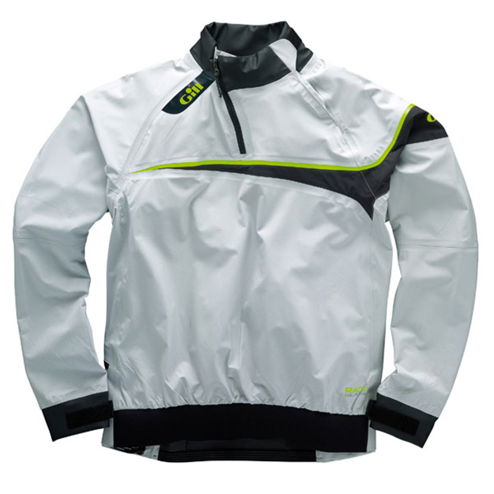 Race Smock waterproof silver- exclusive  race colle