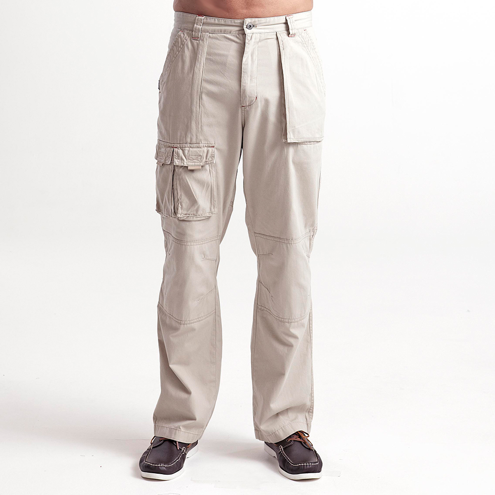 6 Pocket Crew Pants - Lt Stone