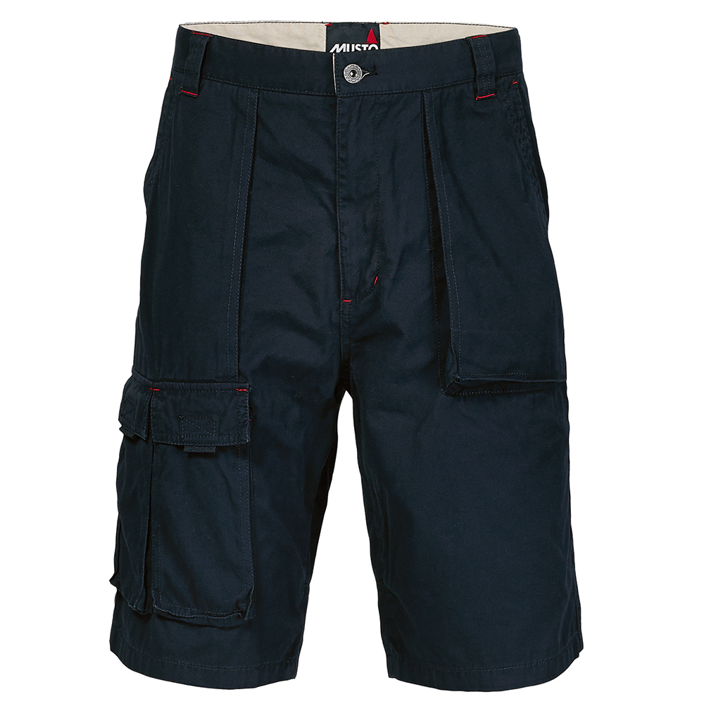 6 Pocket Crew Shorts- Navy