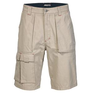 6 Pocket Crew Shorts- Lt Stone
