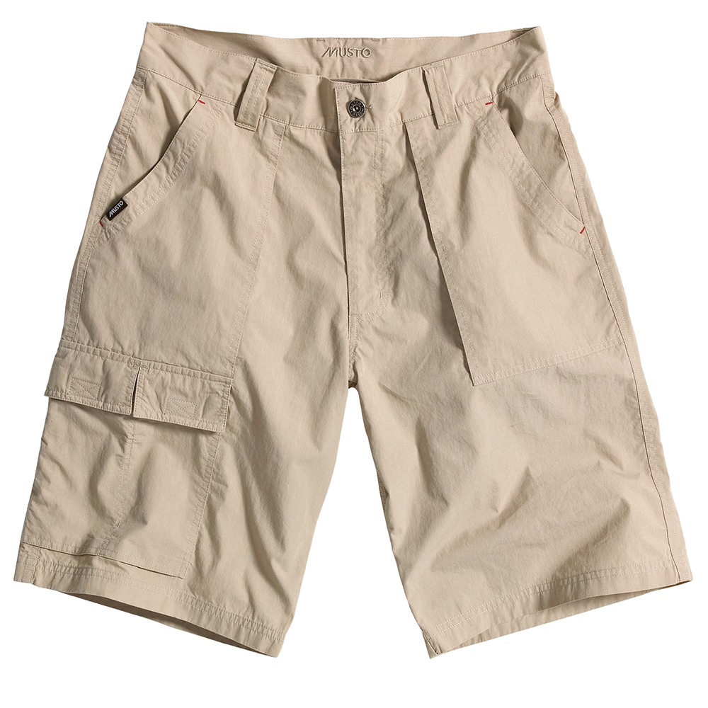 Musto 6 Pocket Fast Dry Shorts in Light Stone